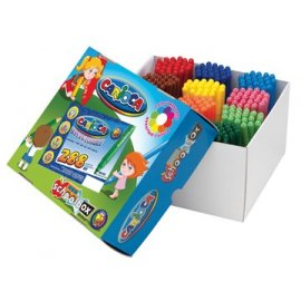 Carioca Viltstift Jumbo Superwashable 288 stuks schooldoos