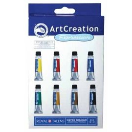 Talens Art Creation aquarelverf 8 tubes