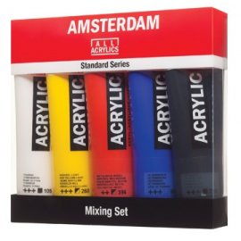 SET 5X120ML ACRYL NIET-PRIM