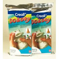 Boetseerklei Creall Do and Dry, 1 kilo