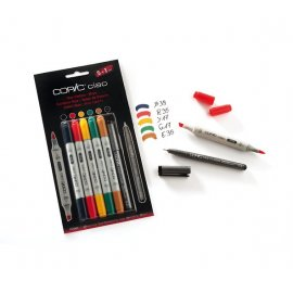 Copic Ciao basis set 5+1 (Multiliner) Hues