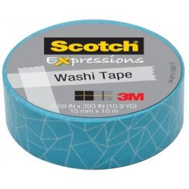 Scotch Expressions washi tape, 15 mm x 10 m, craked C314P28