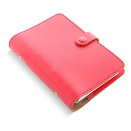 Filofax the original personal coral 022596