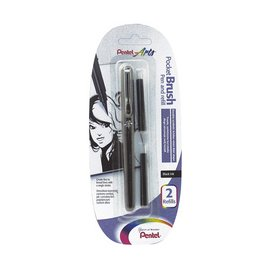 PentelArts Brush Pen Brush Pen incl. 2 Vullingen