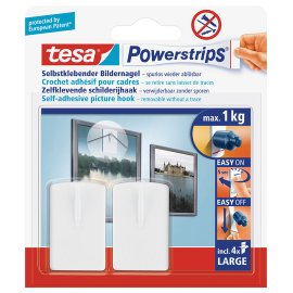 Tesa Powerstrips Schilderijhaak
