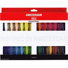 ROYAL TALENS acrylverf AMSTERDAM, 24 x 20 ml