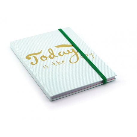 Notitieboek A5 Today Is The Day Hardcover