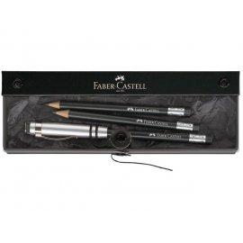 Faber Castell Perfect Pencil giftset, potlood-verlengstuk