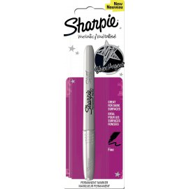 Sharpie permanent marker metallic zilver
