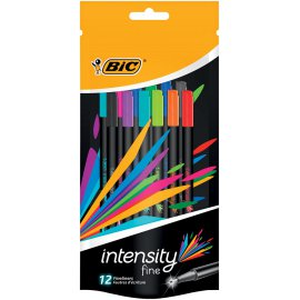 Bic fineliner Intensity 12 kleuren